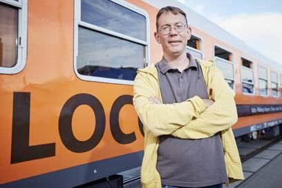Locomore-Chef Derek Ladewig traut sich: Er will mit der Deutschen Bahn auf der Fernstrecke konkurrieren