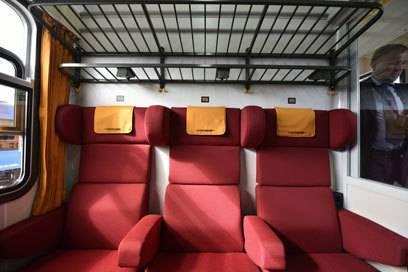 Blick in ein Abteil: Locomore hofft, dass diese von vielen Studenten, preissensiblen und hochmobilen Kunden genutzt werden