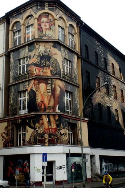 Die Bülowstraße ist das neue Herz der Streetartszene in Westberlin