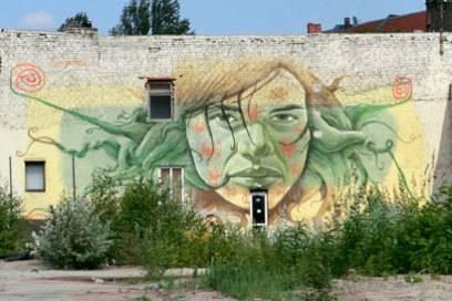 Auch für Amateur-Streetartkünstler ist Berlin immer noch eine riesige SpielwieseFoto: Sivi Steys/flickr