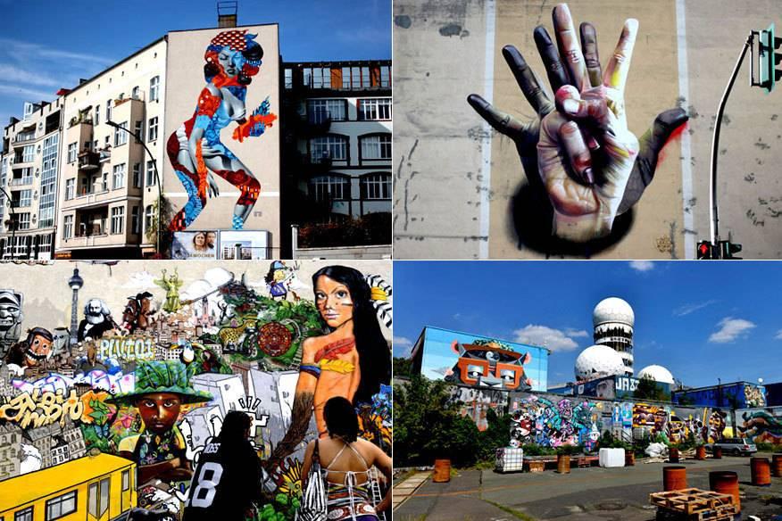 Knallig, chaotisch, politisch, bunt: Ganz Berlin ist eine Open Streetart Gallery