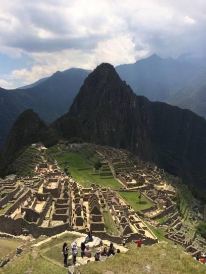 Das ist das Ziel: Macchu Picchu
