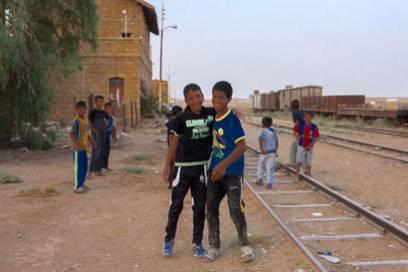 Freundliche Gesichter sieht man in Jordanien vielerorts
