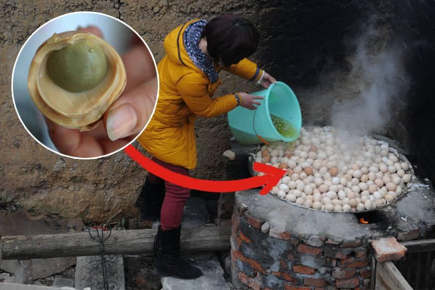Pipi-Eier sind im chinesischen Dongyang eine Delikatesse. Zubereitet werden sie mit Menschen-Urin