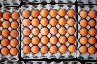 Zehntausende Eier werden auf einer großen Kreuzfahrt verzehrt