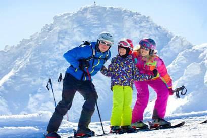 Das slowakische Skigebiet Jasné Nízke Tatry ist vor allem bei Familien beliebt