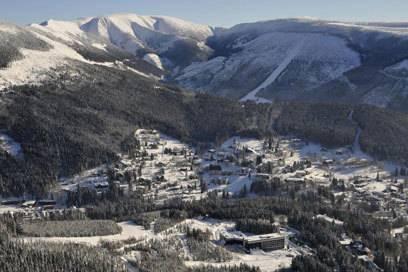 Günstige Alternative zu den Alpen: Spindlermühle liegt im höchsten tschechischen Gebirge, dem Riesengebirge