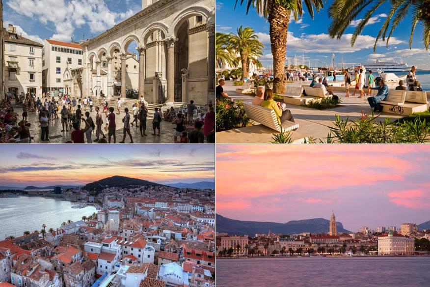 Gute Flugverbindungen, Meerlage, Stadt und Strand: Das sind nur einige Gründe, die Split zum Trend-Reiseziel machen