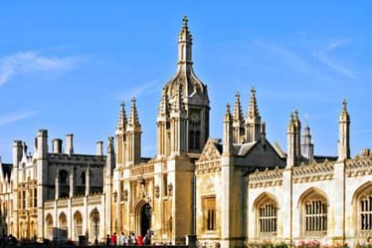 Die Colleges von Cambridge sehen aus wie kleine, gotische Schlösser