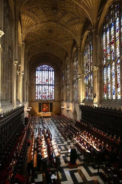 King's College Chapel ist die Kirche mit dem größten Fächergewölbe der Welt