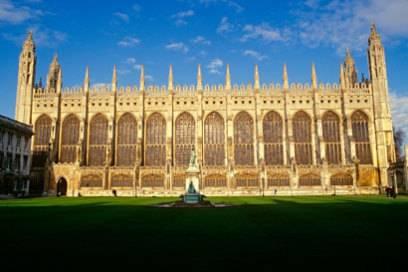 King's College Chapel ist das größte Gebäude in ganz Cambridge und das Wahrzeichen der Stadt
