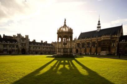 Der Pavillon von Trinity College gehört zu den schönsten Gebäuden in Cambridge.