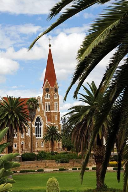 Die Christuskirche in Windhoek wurde während der deutschen Kolonialzeit errichtet