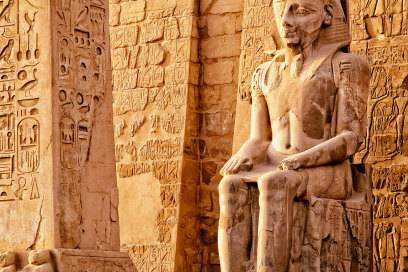 Die riesige Tempelanlage in Luxor gehört zum Weltkulturerbe der Unesco