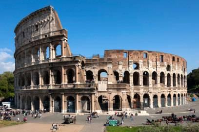 Das Kolosseum ist das größte je gebaute Amphitheater der Welt