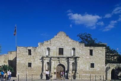 Die Missionsstation Alamo wurde durch eine Schlacht während des texanischen Unabhängigkeitskrieges 1835/1836 bekannt