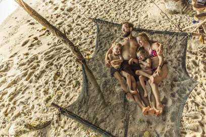 Urlaub mit Familie und Freunden zu einem bestimmten Anlass ist die perfekte Kombi, um die Reise in guter Erinnerung zu behalten
