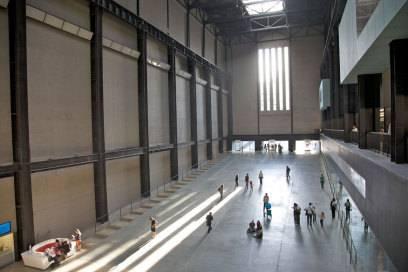 Große Räume für große Kunst: Turbinenhalle in der Tate Modern