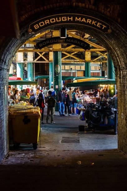 Hereinspaziert in den Borough Market!