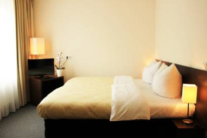 Das Hotel Lützow am Tiergarten ist schlicht und elegant eingerichtet