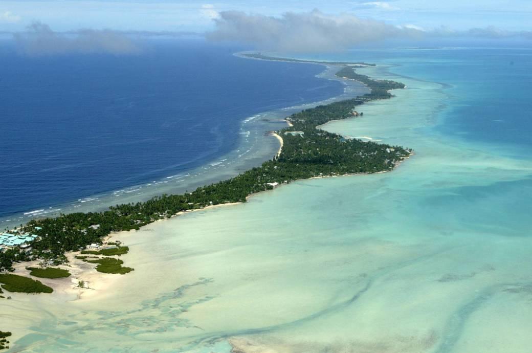 Einladender als die Tundra: Das neue russische Zarenreich soll auf den Trauminseln Kiribatis entstehen