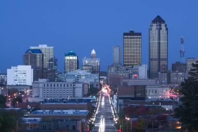 Des Moins ist die Hauptstadt und gleichzeitig auch die größte Stadt des US-Bundesstaats Iowa