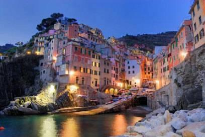 Ein pittoreskes Dorf in Cinque Terre