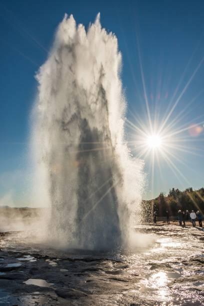 Der Strokkur auf Island