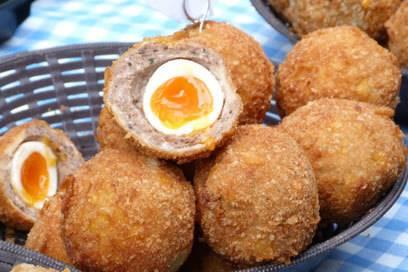 Ungewöhnlich, aber auch ungewöhnlich gut: Schottische Eier