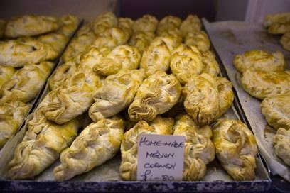 So sehen die typischen Cornish Pastys aus