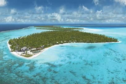 Heute befindet sich auf der Insel ein Luxus-Resort