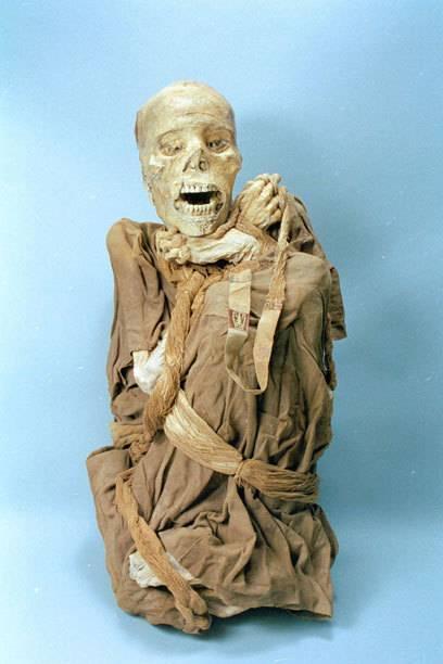 Spektakulärer Fund: Die Mumien vom Kondorsee sind heute im Leymembambas Museum in Peru ausgestellt