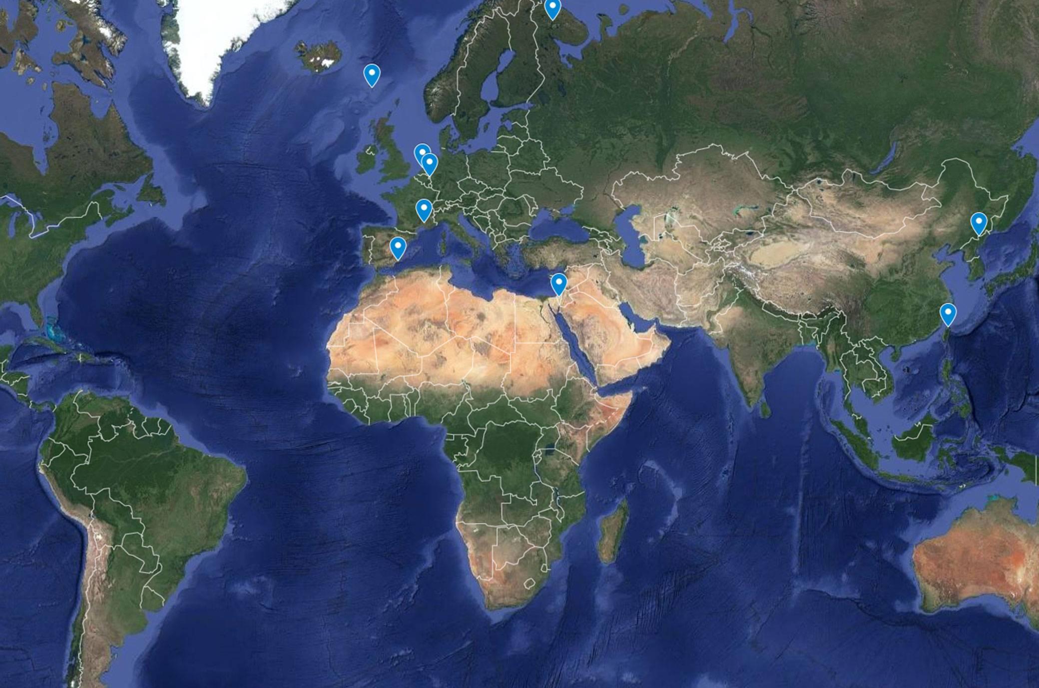 Google Maps: 11 Orte, der Kartennst nicht zeigen darf ... on