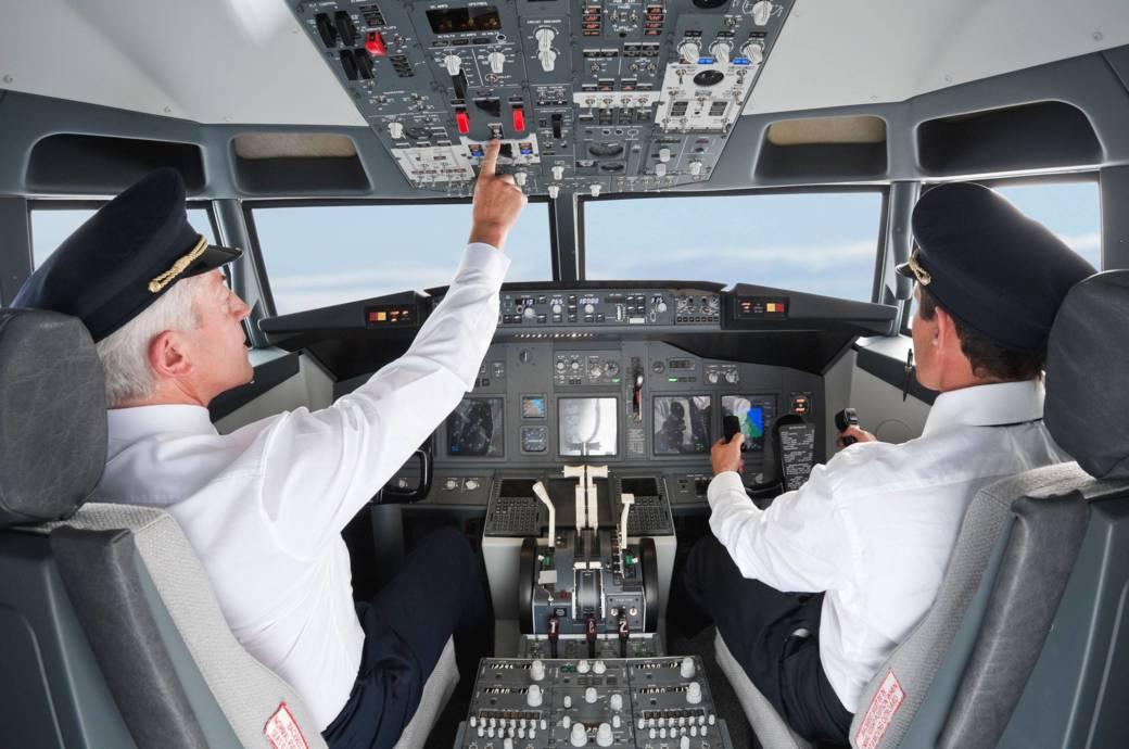 Landet ein Pilot sein Flugzeug eigentlich noch selbst?