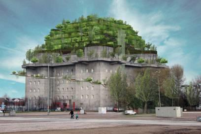 Hilldegarden hamburger bunker wird deutschlands coolster - Stadtgarten hamburg ...