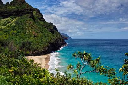 Wunderschön, aber gefährlich: der Hanakapiai Beach auf Kauai, Hawaii