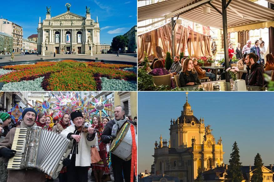 Lemberg ist eine Stadt zum Genießen: Eine lebhafte Feierkultur trifft auf wunderschöne Architektur und jede Menge gutes Essen.