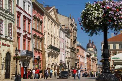 Die Lemberger Altstadt