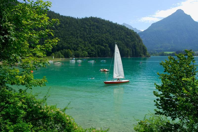 Seen gibt es im Salzburger Land zuhauf – zum Baden oder Segeln