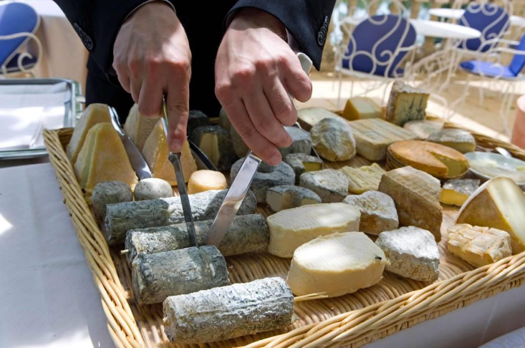 """""""Savoir vivre"""": Eine Käseplatte gehört zu jedem ordentlichen französischen Menü"""