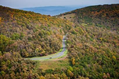 Hier schlägt mein Roadtrip-Herz höher: der Skyline Drive in Virginia.