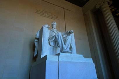 Ein bedeutender Ort amerikanischer Geschichte: das Lincoln Memorial.