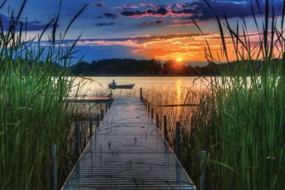 Wie gemalt: Der Miners Lake ist einer von 11.000 Seen in Michigan.