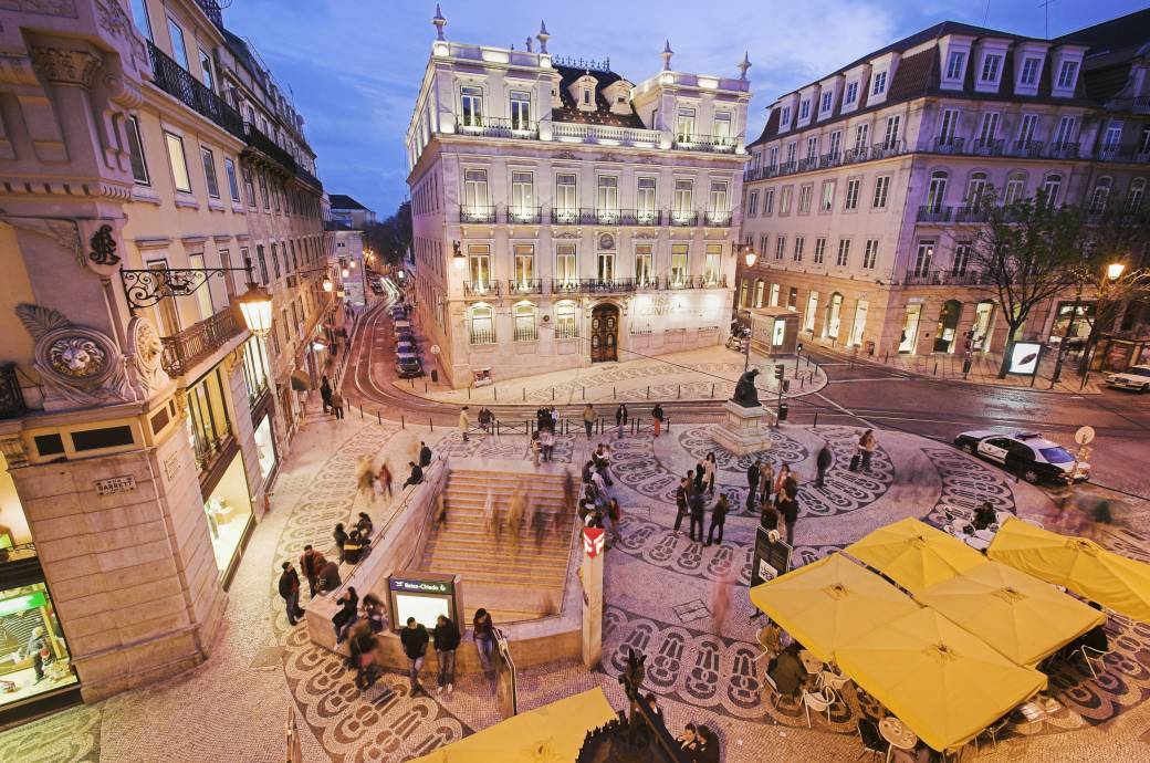 Largo do Chiado, Lissabon