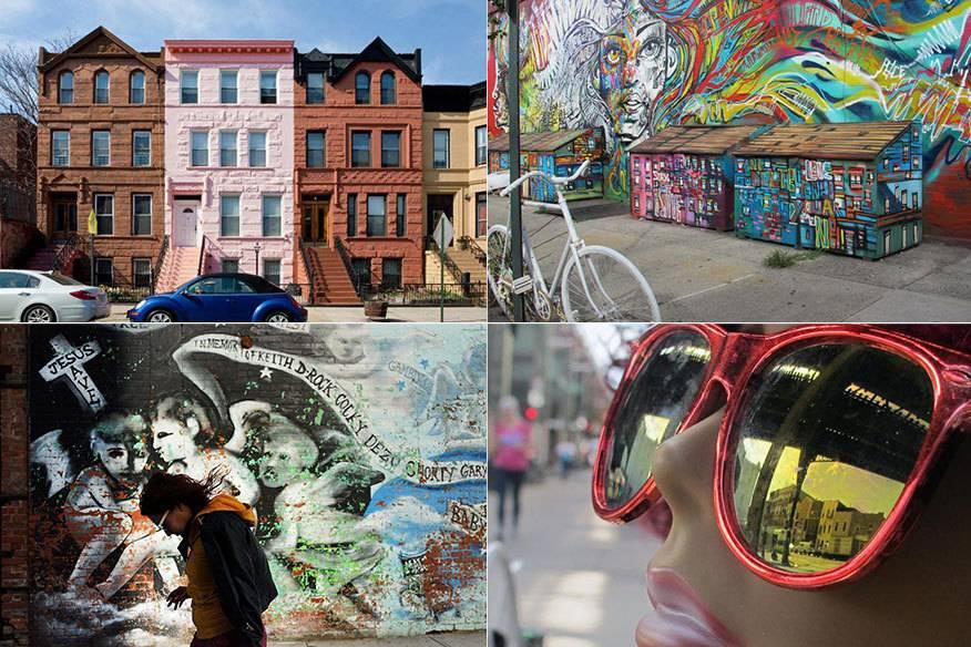 """In """"Bed-Stuy"""" soll man noch das wahre New York fernab der Touristenmassen und überteuerter Läden finden"""
