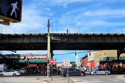 Nicht zu verwechseln mit dem berühmten Namensvetter: Der Broadway trennt Bed-Stuy und Bushwick