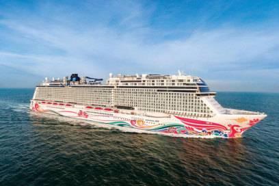 Gebaut in Papenburg, Einsatz in China: Die Norwegian Joy fährt ab Sommer fast ausschließlich mit Chinesen an Bord