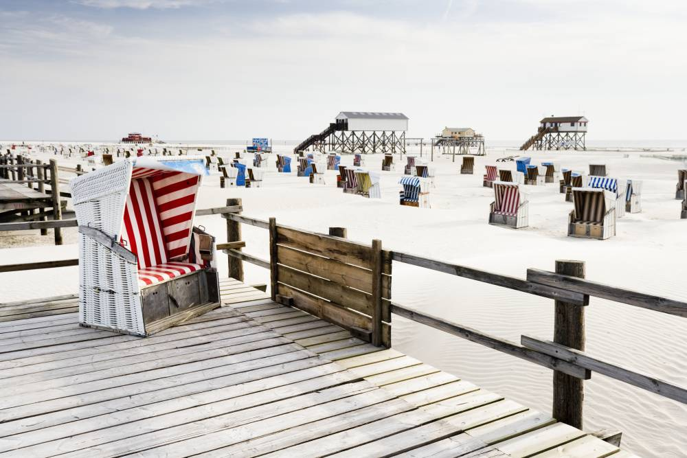 Strand in Sankt Peter-Ording