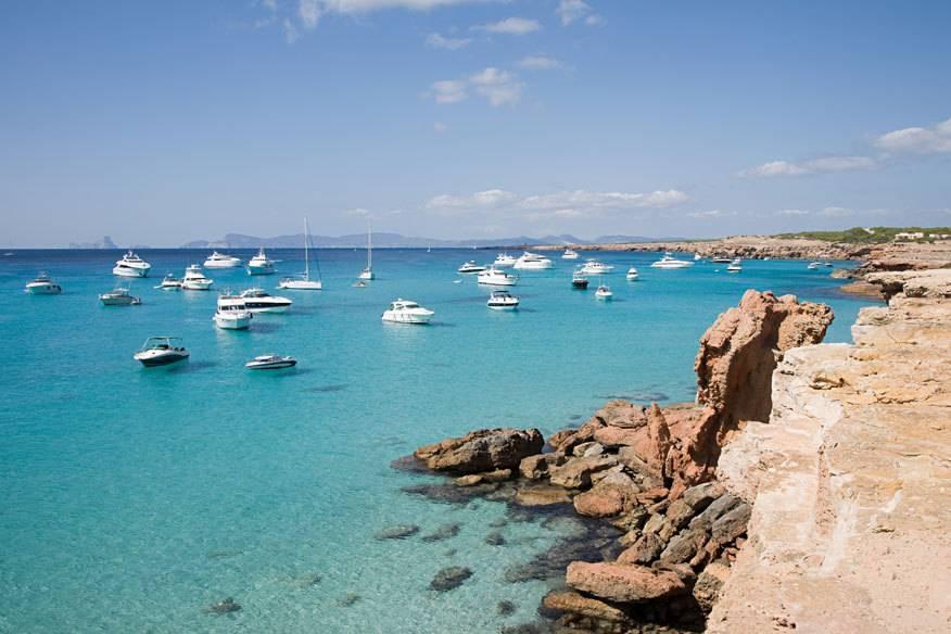 Balearen-Insel Formentera