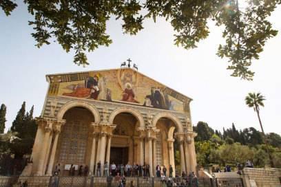 Die Kirche der Nationen im Garten Gethsemane